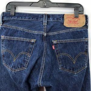 Levi's Jeans - Men's 501 straight leg button fly jeans 32x30